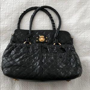 Marc Jacobs Black Quilted Handbag